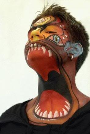 awesome face paint