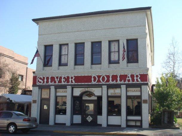 Marysville's Silver Dollar Saloon