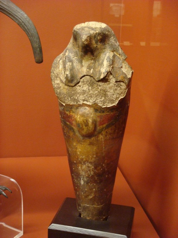 Rosicrucian-Museum-mummified-falcon
