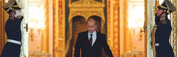 Vladimir Putin Is Good At Looking Like A Badass