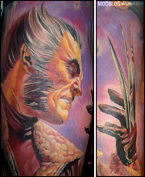 Wolverine tattoo