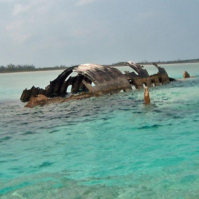 wrecked-jet-norman's-cay