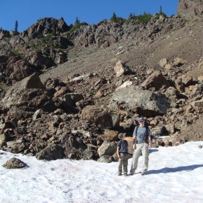 Summitting Mount Ellinor