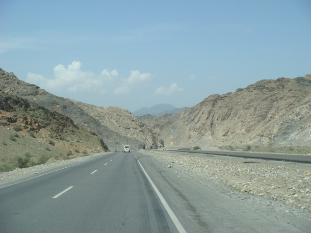 Afghanistan highway after Torkham