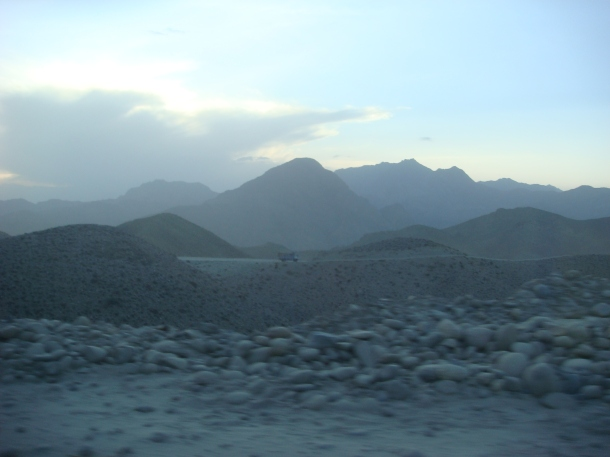 afghanistan mountain road