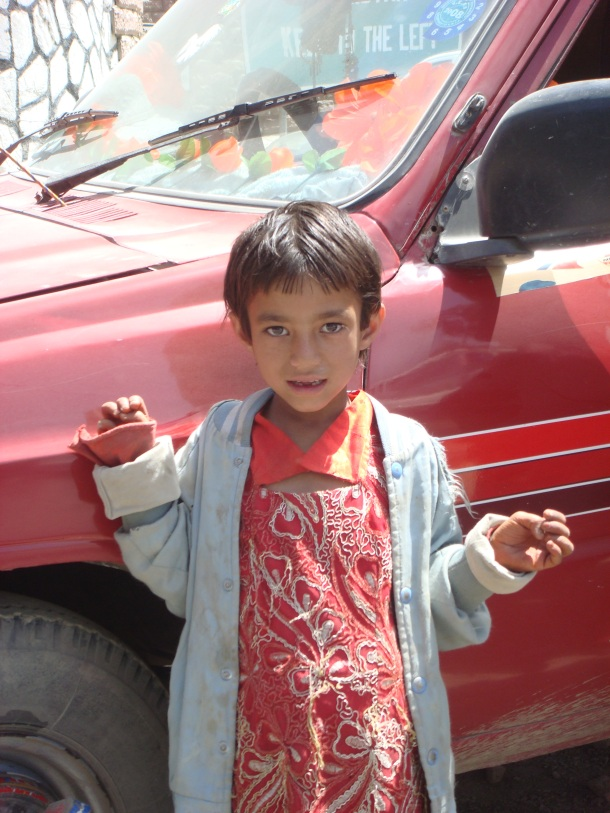 child beggar torkham