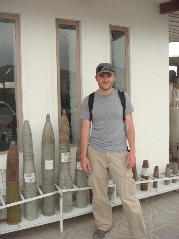 justin ames afghanistan