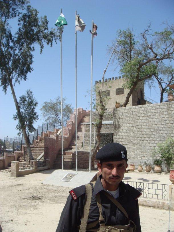 Khyber Rifles guard