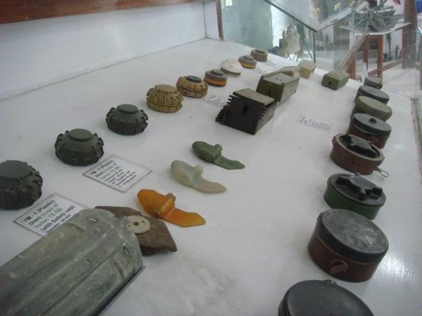 land mines omar mine museum
