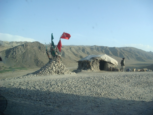 martyrs flags afghanistan
