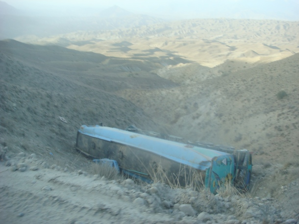 truck accident afghanistan