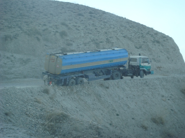 truck crash afghanistan
