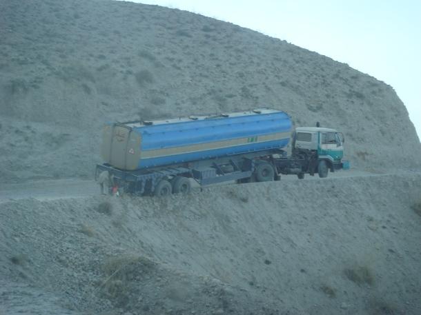 truck crash afghanistan