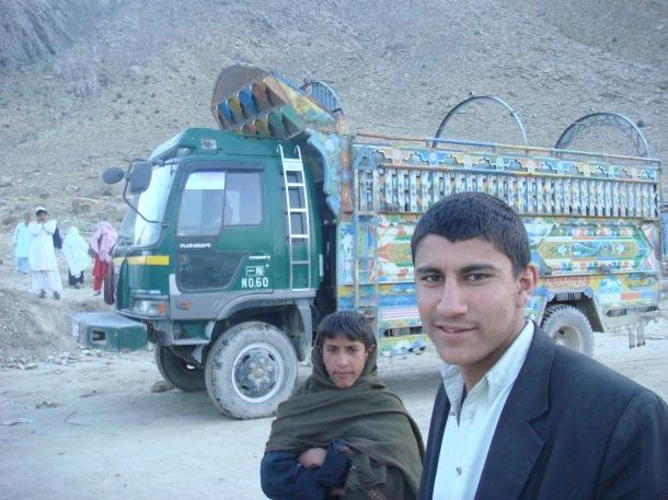 truck stop afghanistan