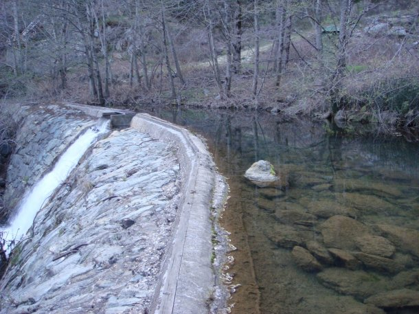 old bullards bar dam