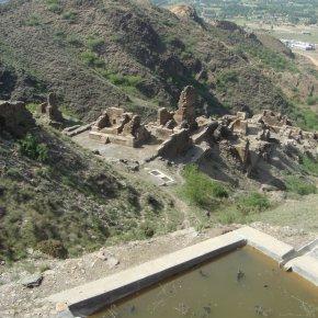 Visiting Takht-i-Bahi