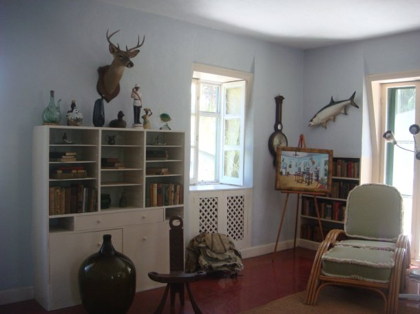 hemingway writing room