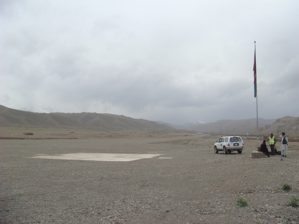 bamiyan landing strip
