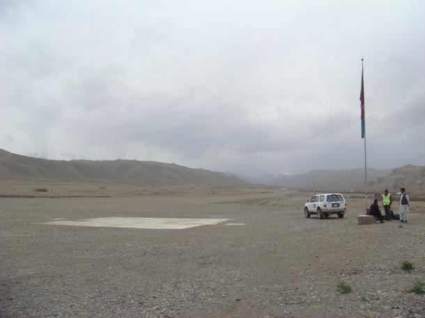 bamiyan landing strip