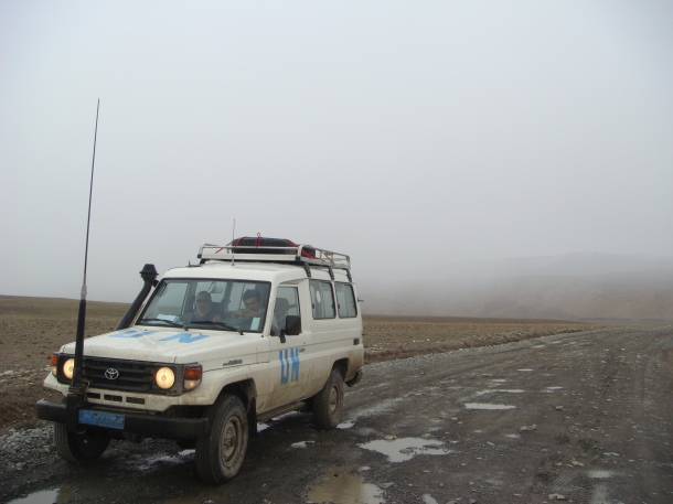 Band-e-Amir-road