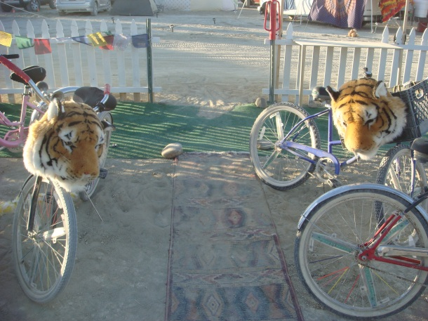 burning man bicycles
