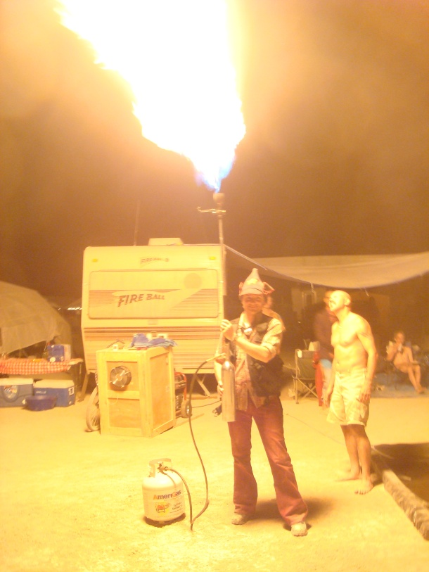 burning man flame thrower