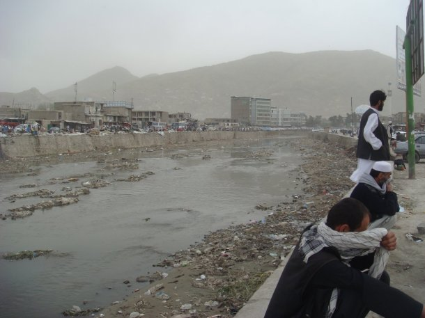 kabul-river