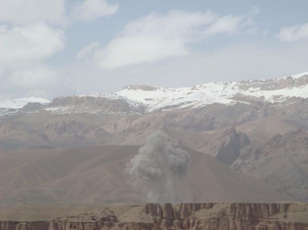 roadside bomb Afghanistan