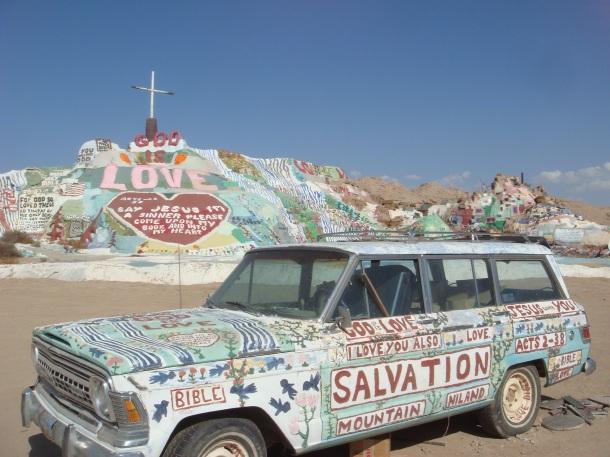 salvation mountain niland
