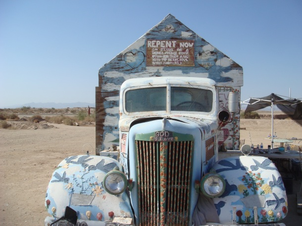 salvation truck