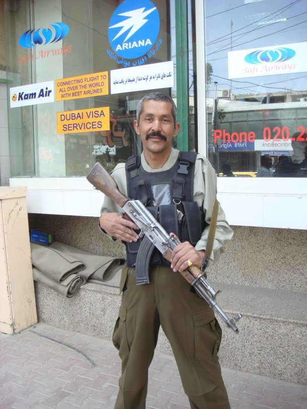shopping-mall-guard-kabul