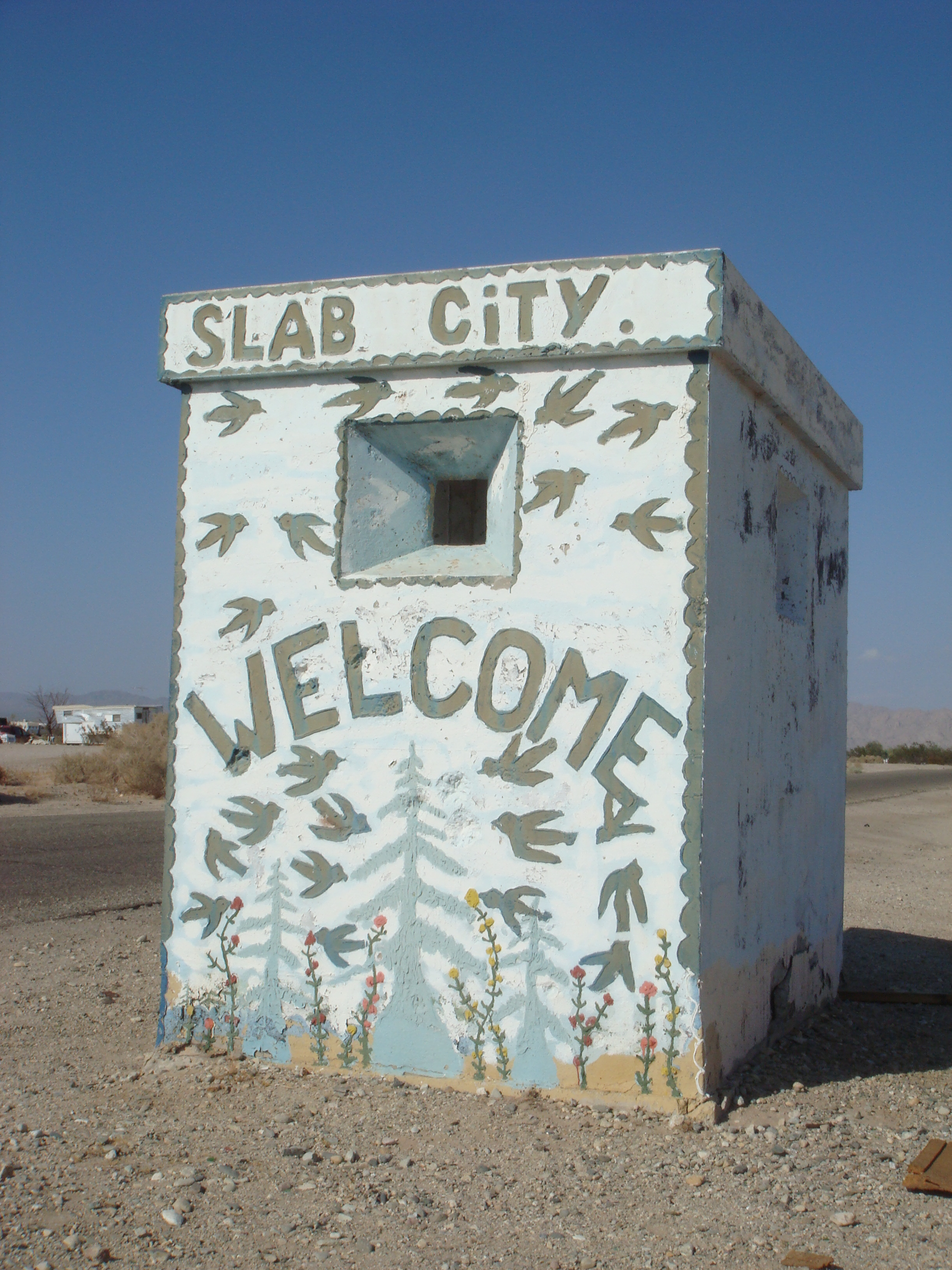 The Salton Sea Pictures And Scenes Of Slab City The
