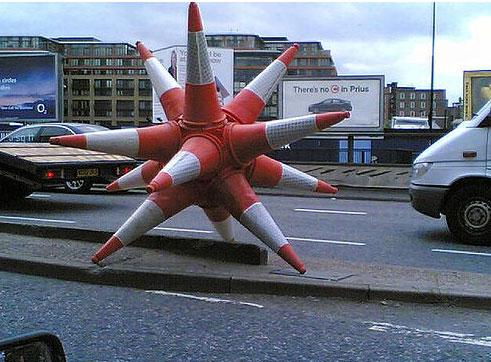 banksy-cone-star