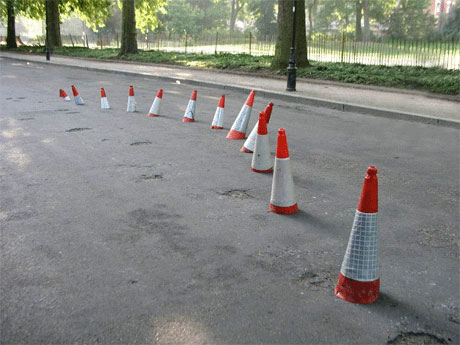 banksy-traffic-cones