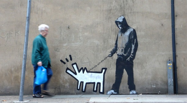 haringdog banksy