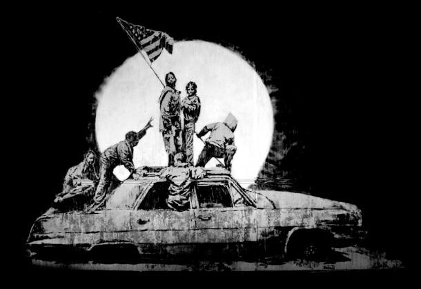 la_flag banksy