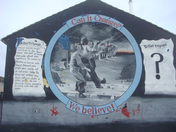 loyalist mural northern ireland