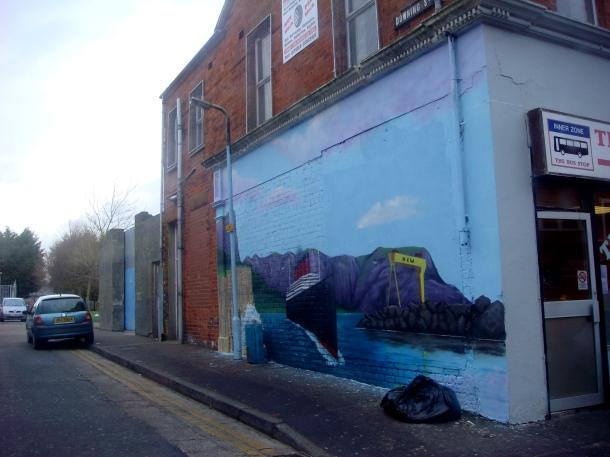 titanic mural belfast