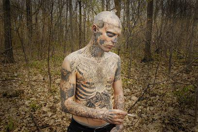 bizzare tattoo
