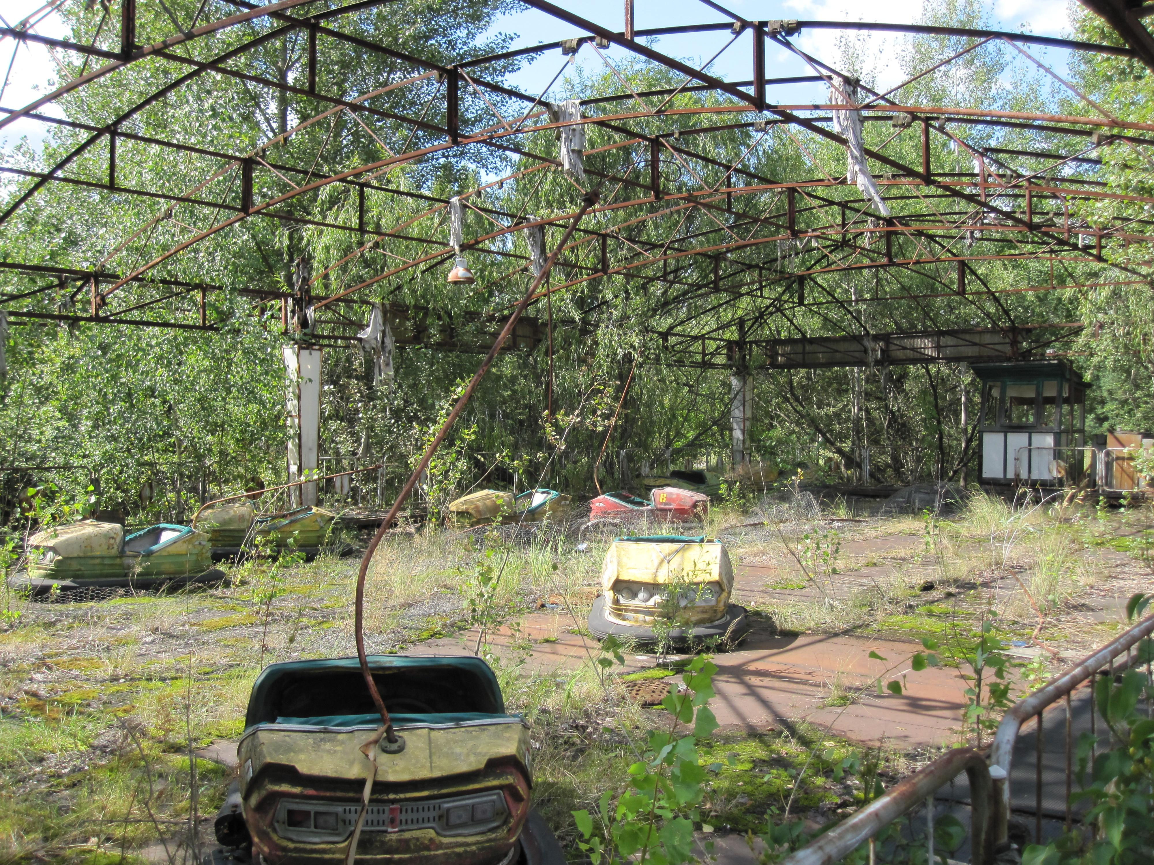Great City Cars >> Visiting Pripyat   The Velvet Rocket