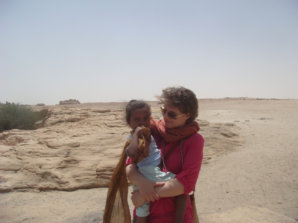 Eleonora Ames at Sai Island, Sudan