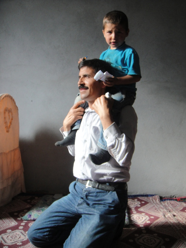 kurdish father son