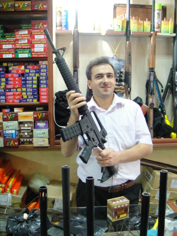 kurdistan gun dealer