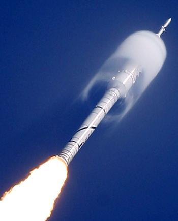Nasa's Ares I-X rocket 1