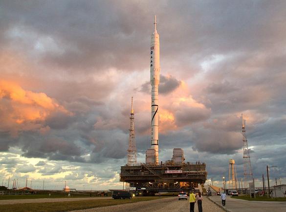Nasa's Ares I-X rocket 2