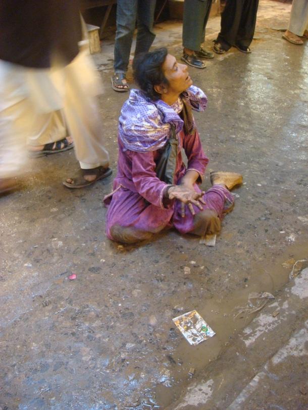 beggar peshawar pakistan