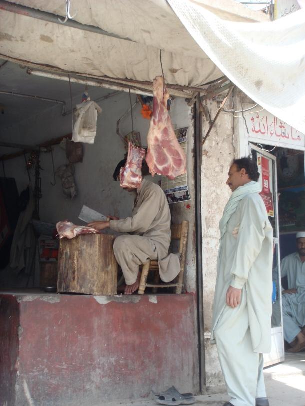 butcher-peshawar-pakistan