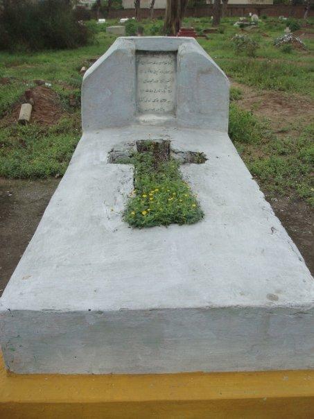 A cemetery in Peshawar, Pakistan