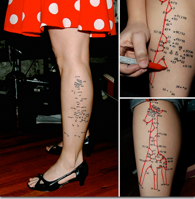 connect the dots tattoo