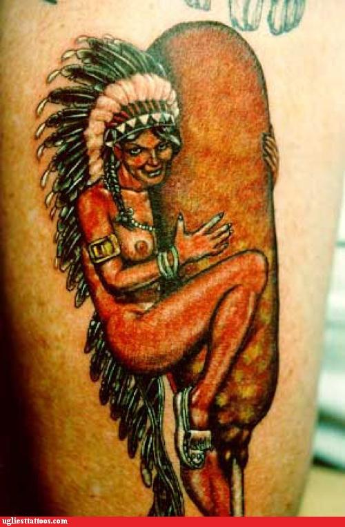corndog tattoo